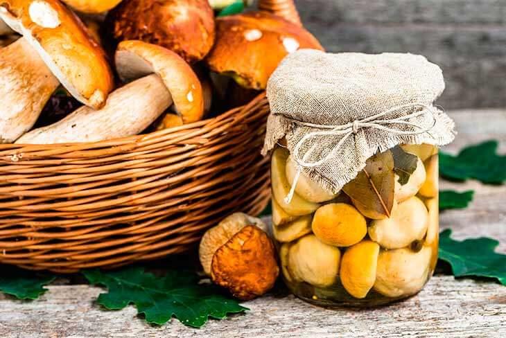 Маринуем польские грибы на зиму в банках