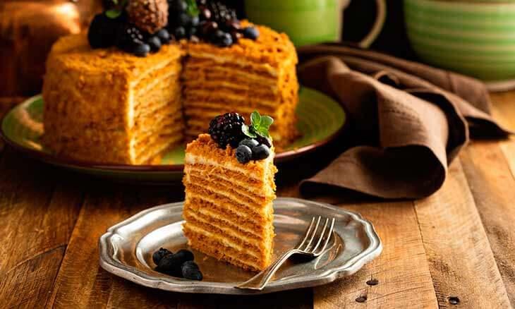 История торта